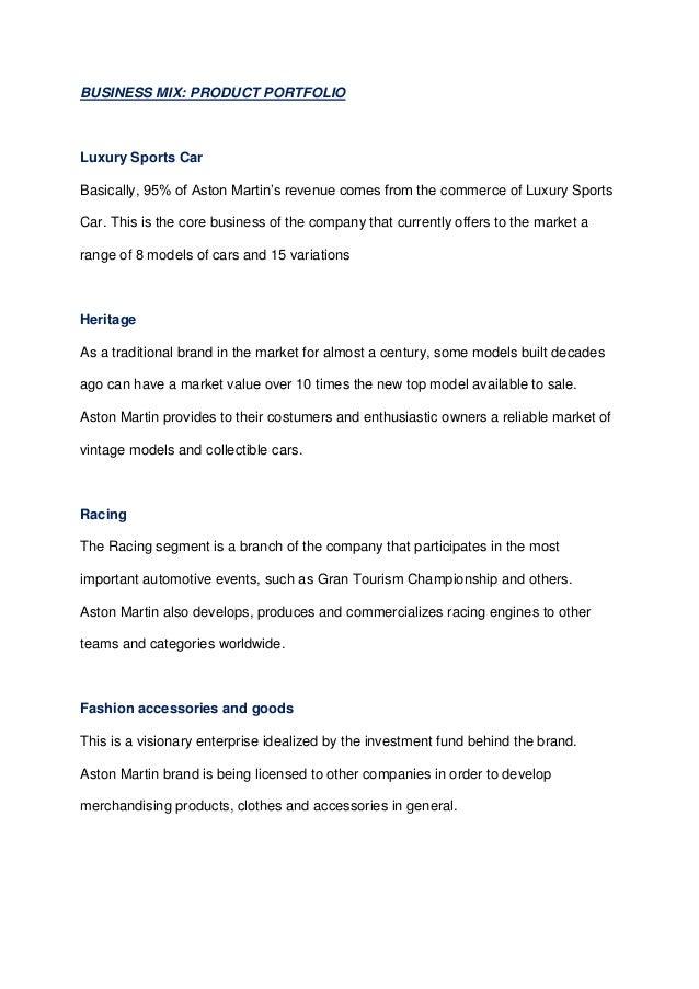 Integrated Marketing Campaign Aston Martin (Dissertation)