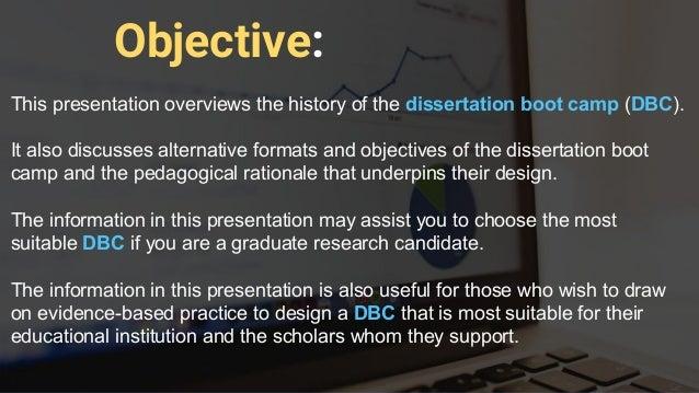 Dissertation Bootcamp 2018
