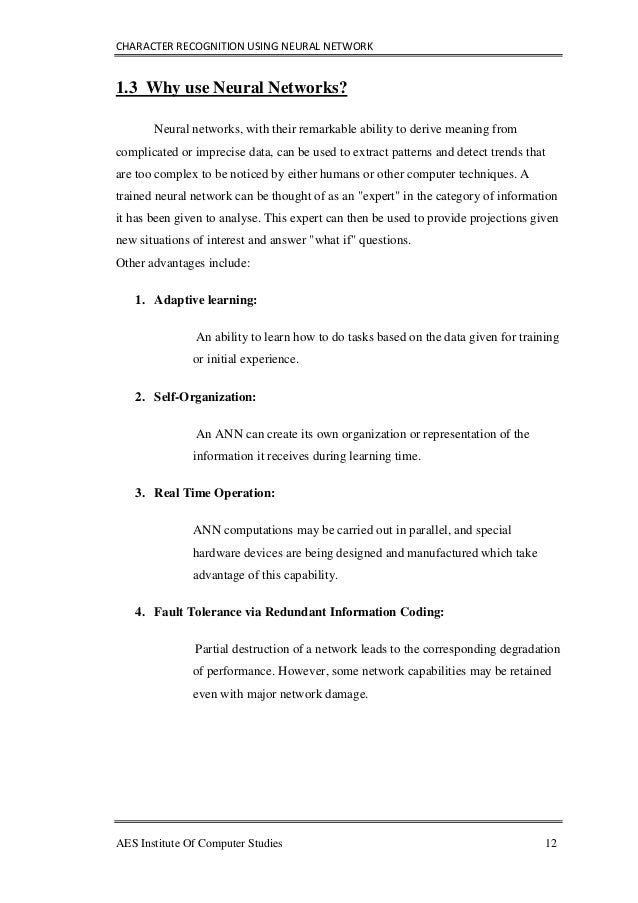 neural networks thesis Neural networks dissertation writing service to assist in custom writing a college neural networks thesis for an mba thesis research proposal.
