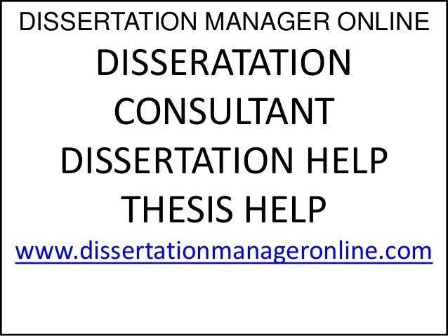 Dissertation consulting service checking