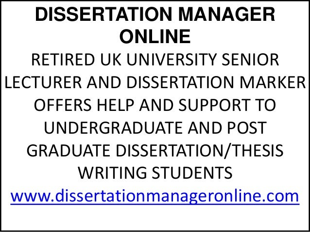 dissertation consultants uk We are a strong team of professional consultants ie ex-faculty professors, ex- research lecturers of uk's top universities - dissertation consultancy.