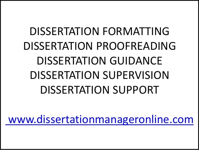Dissertation consulting services in uk