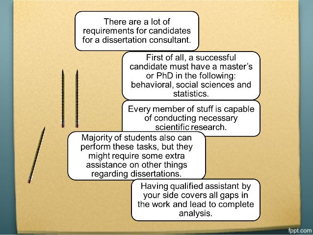 Phd dissertation consulting