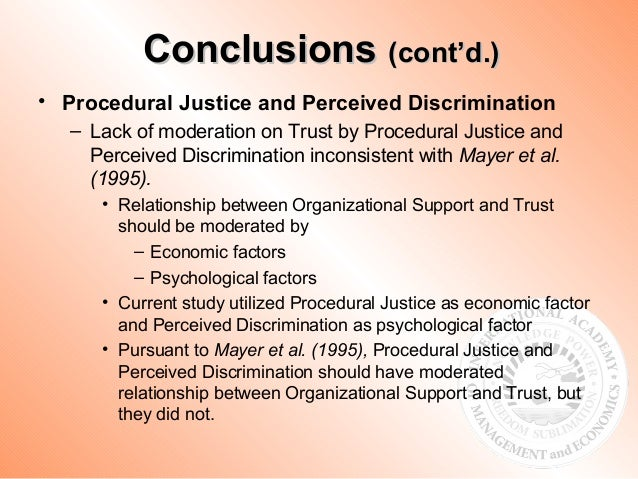 fairness perceptions as a moderator in A significant aspect that drives these attitudes and behaviors is the perception of fairness or perceptions and employee as a moderator.