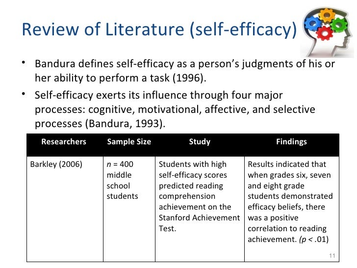 Dissertation on teacher efficacy
