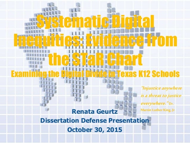 Digital divide dissertation