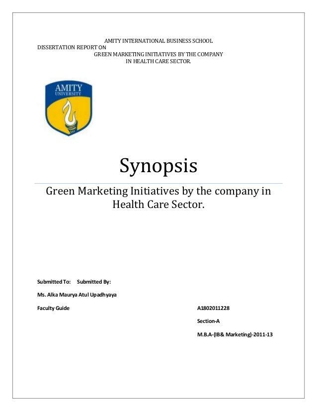 Full Dissertation Report