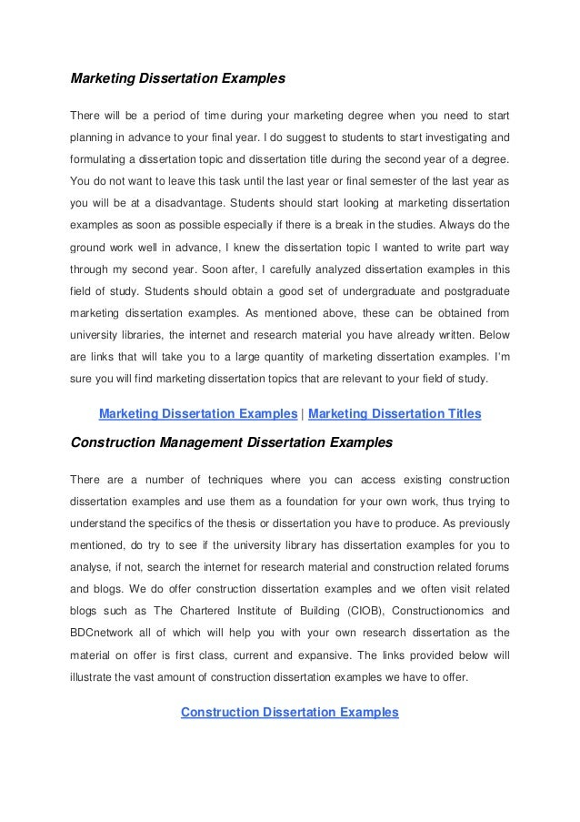 hrm dissertation examples