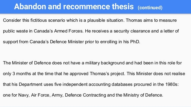 doctoral thesis database canada