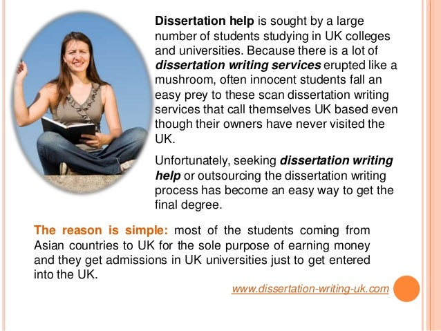 Help with dissertation writing of purpose