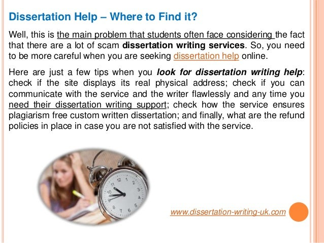 Dissertation services in uk advice
