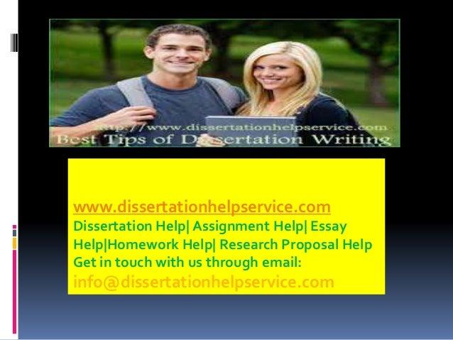 Dissertation support com