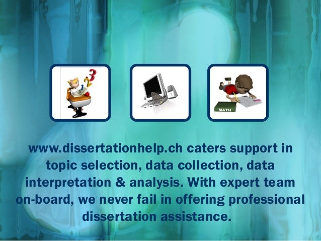 dissertation data collection help In stage nine: data analysis, we discuss the data you will have collected  during stage eight: data collection however, before you collect your data,  having.