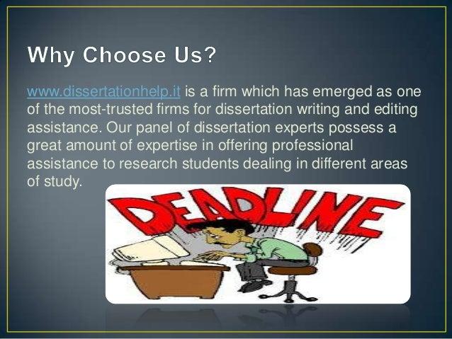 Dissertation help info