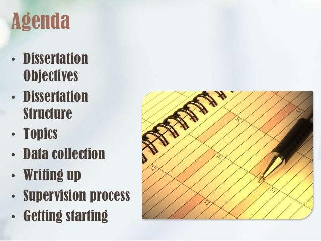 Dissertation data collection