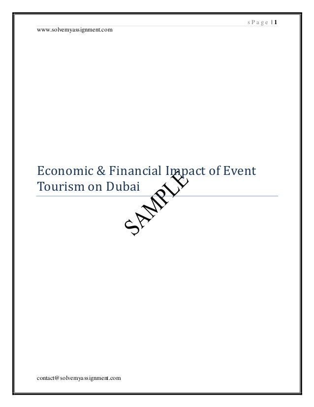 Dissertation dubai tourism