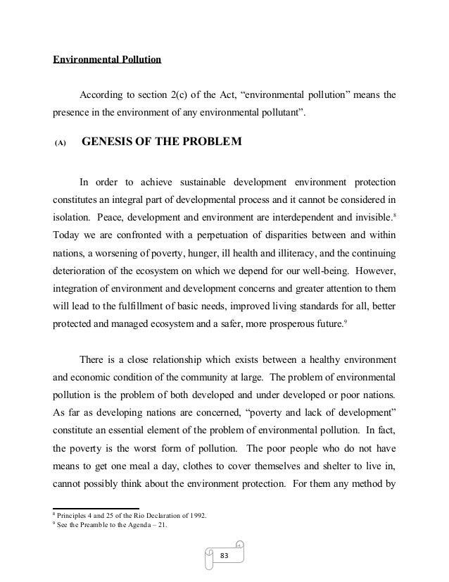 Phd thesis environmental law
