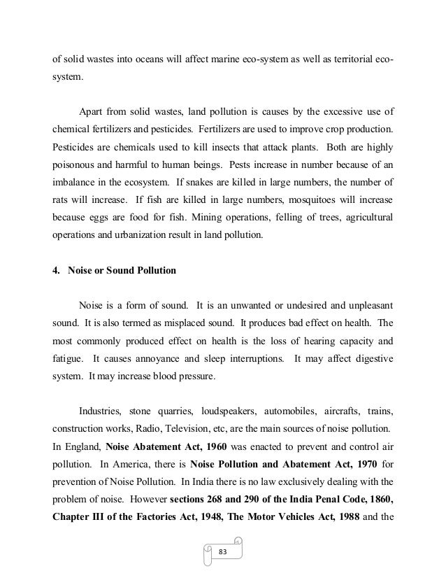 dissertation on environmental pollution and global warming  dumping 29