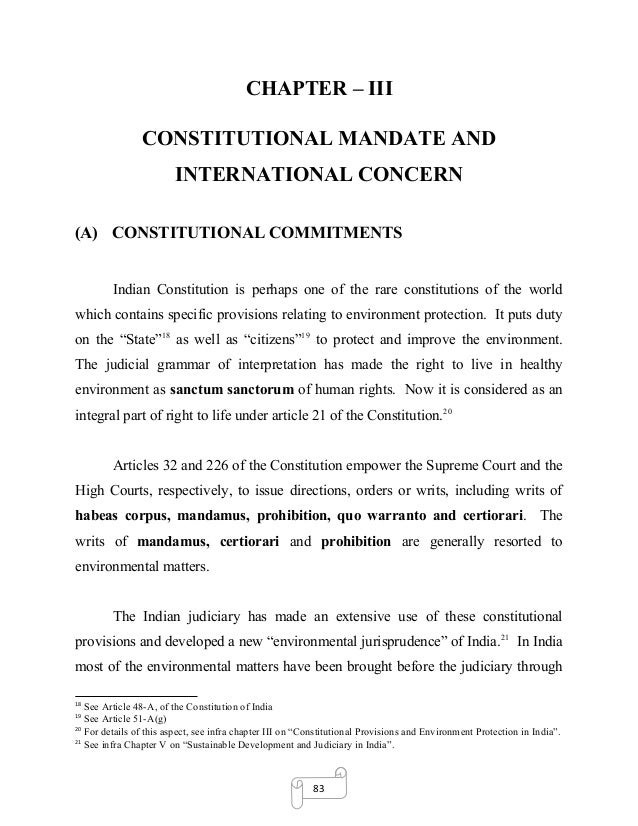 Thesis on international environmental law concurrent data representation synthesis