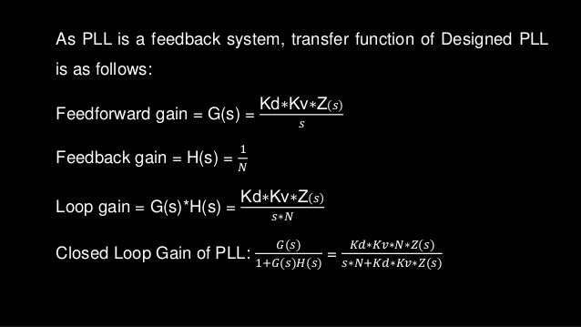 Phd thesis on pll