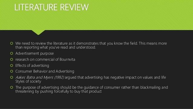 negative impact of advertisement