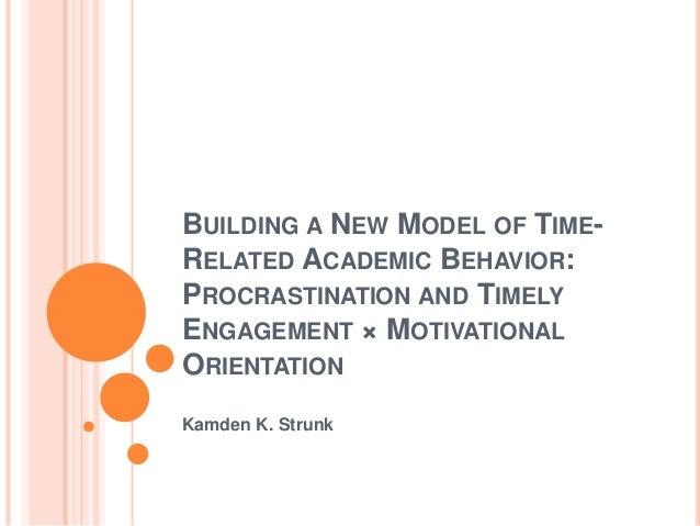 Time Management & Procrastination