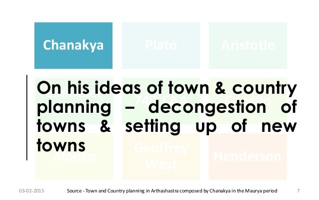 town country planning dissertation Towards strategic planning in tanzania  the town and country planning act which is the principal legislation for urban and rural.