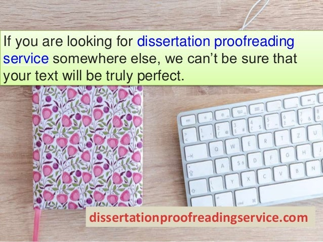 Dissertation proofreading service techniques
