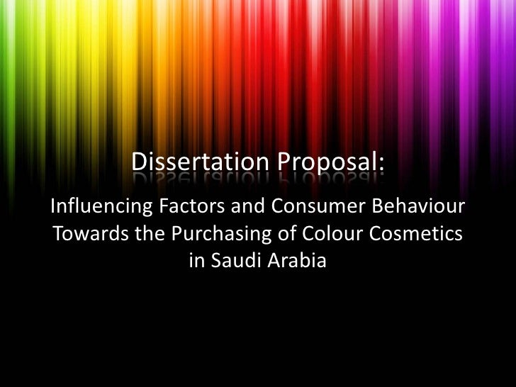 Dissertation proposal ppt dissertation proposal influencing factors and consumer behaviour towards the purchasing of colour cosmetics toneelgroepblik Choice Image