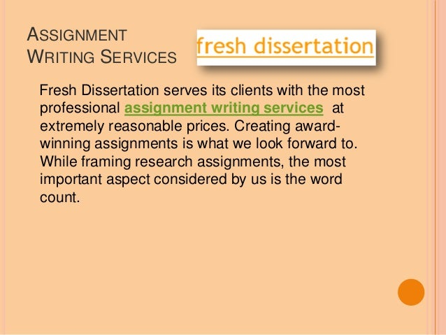 Dissertation proposal service contents