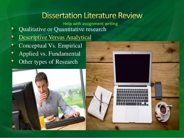 Dissertation services in uk qualitative