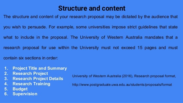 University of western australia phd thesis