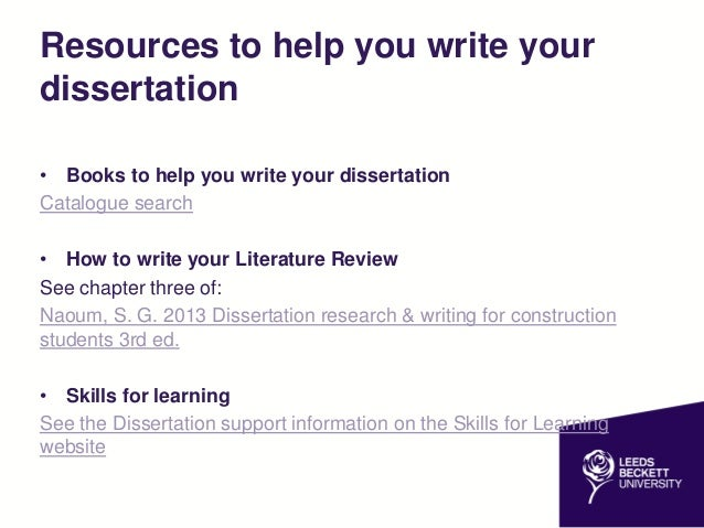 help with writing a dissertation for construction students