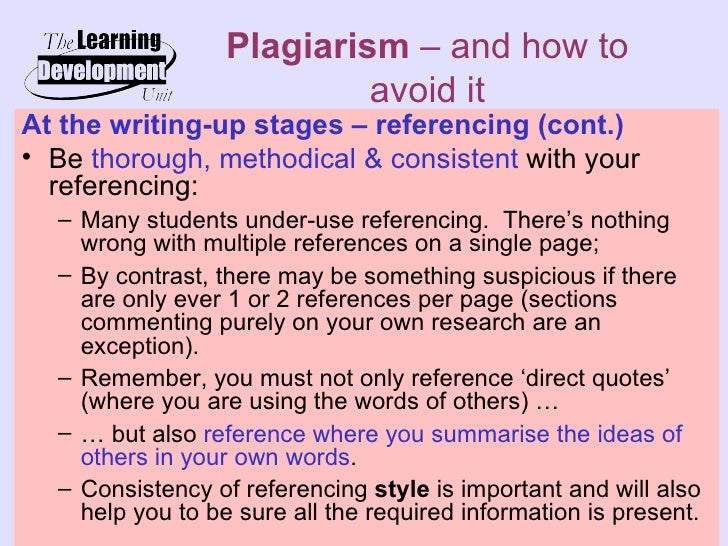 accidental plagiarism dissertation This type of accidental plagiarism can be  and there were instances of plagiarism of dissertation work submitted by the postgraduate degree students.