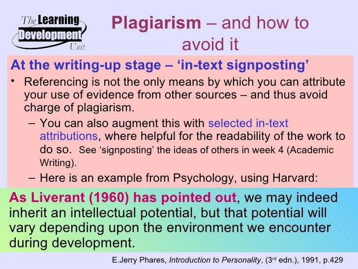 an analysis of the existence of plagiarizm However, according to analysis cited in trout's post, harner took the original  where numerous comments exist accusing her of plagiarism and.