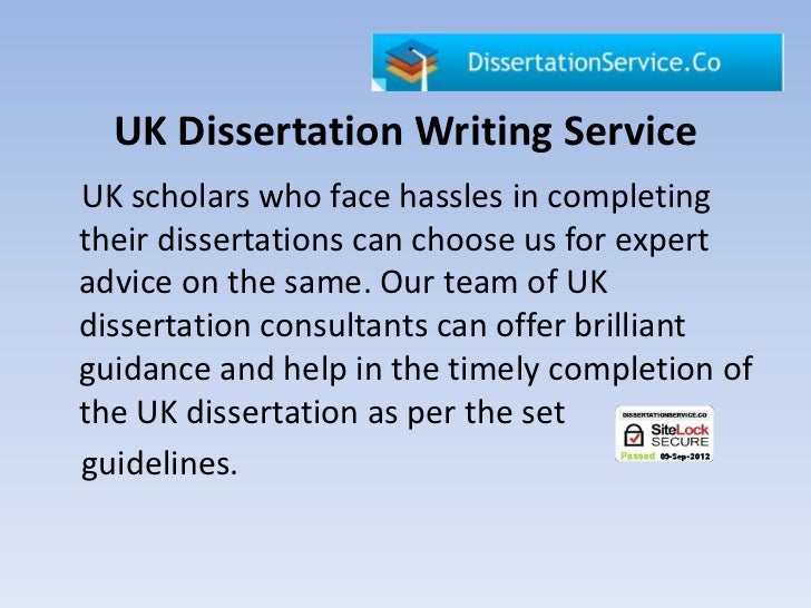 dissertation consulting service training