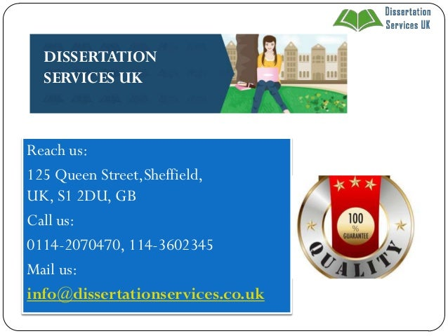 Dissertation service uk online