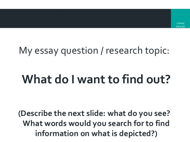 Smllc  Dissertations Information And Research Skills   Library Services My Essay