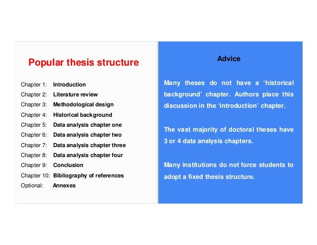 Structure phd thesis
