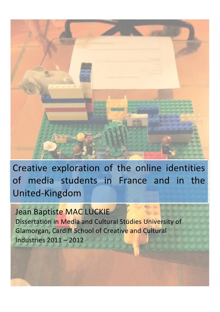 Creative	   exploration	   of	   the	   online	   identities	  of	   media	   students	 ...