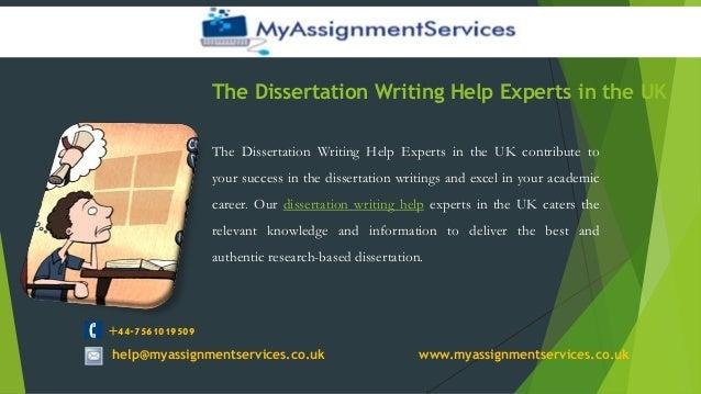 Dissertation Help: Dissertation Help & Writing Services in UK