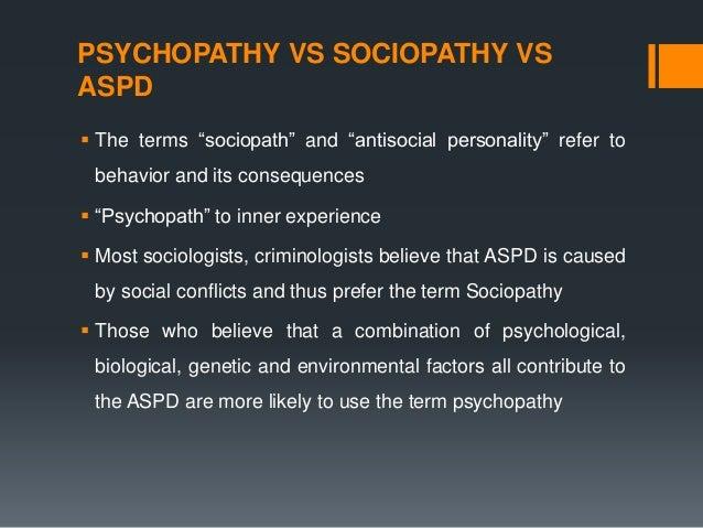 Sociopath disorder