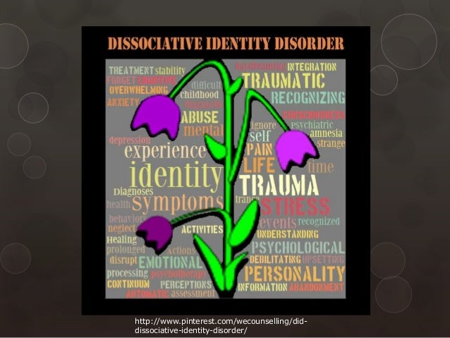 the dissociate identity disorder in the psychological diseases