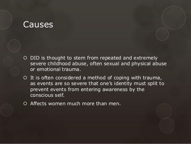 Dissociative identity disorder & actors/actresses | knowledge.