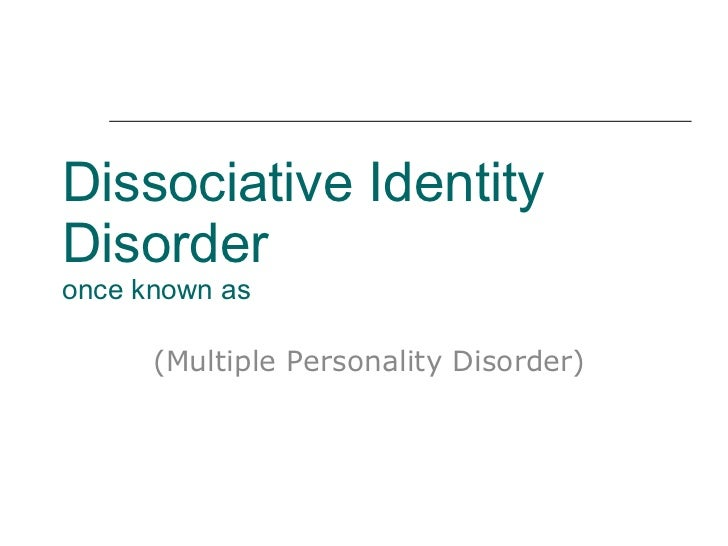 essays dissociative identity disorder Read this essay on dissociative identity disorder come browse our large digital warehouse of free sample essays get the knowledge you need in order to pass your classes and more.