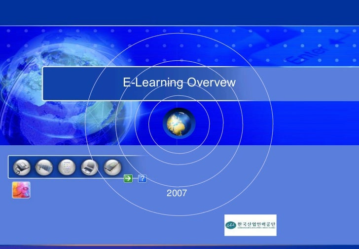 E-Learning Overvew<br />2007<br />