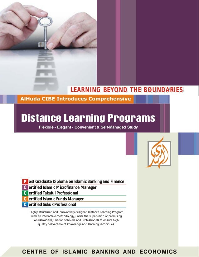Ost Graduate Diploma On Islamic Banking And Finance Ertified Microfinance Manager Takaful Professional Er