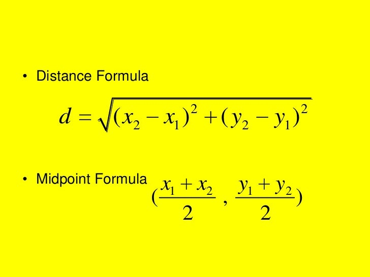Distance midpoint formulas 115 – Midpoint and Distance Formula Worksheet