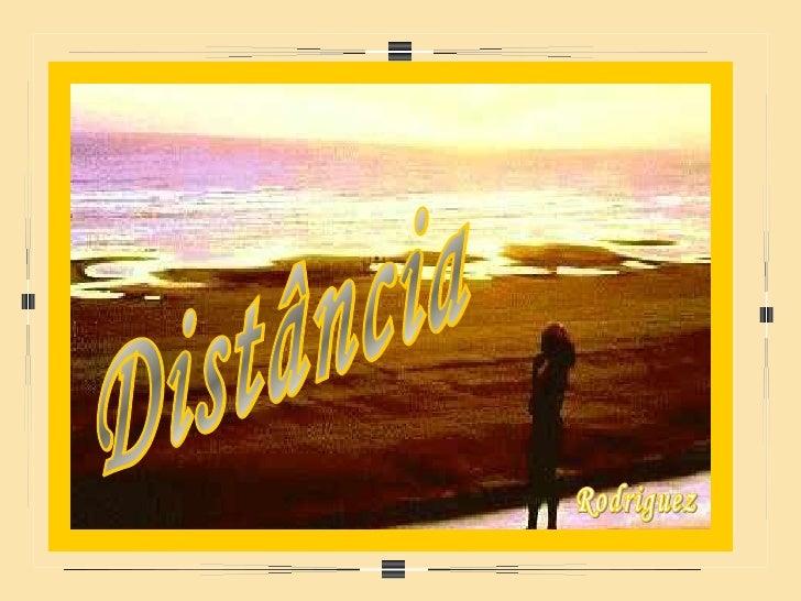 Distância Rodriguez