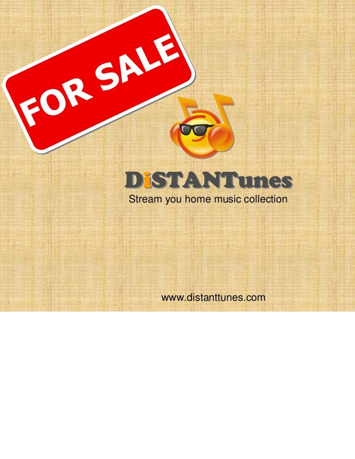 DiSTANTunes - business overview